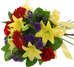 Brilliant Blooms Bouquet
