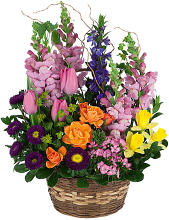 Spring Garden Mixed Basket