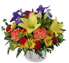 Celebrate Flower Basket