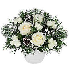 White Rose Christmas Gift
