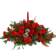 Centerpiece in Red