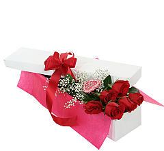 Six Red Roses, Boxed