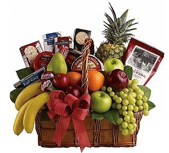 Teleflora Fruit Gourmet A Gift Basket