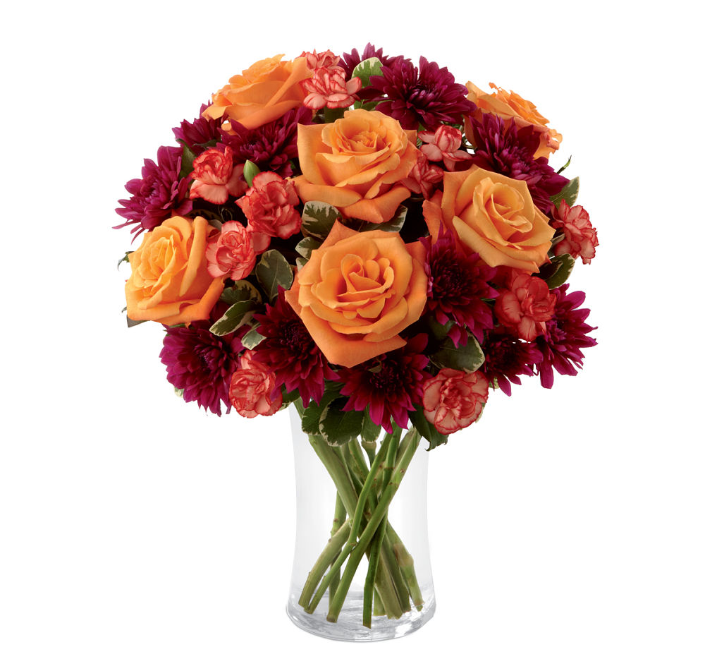Ftd autumn treasures™ bouquet · fall flowers canada