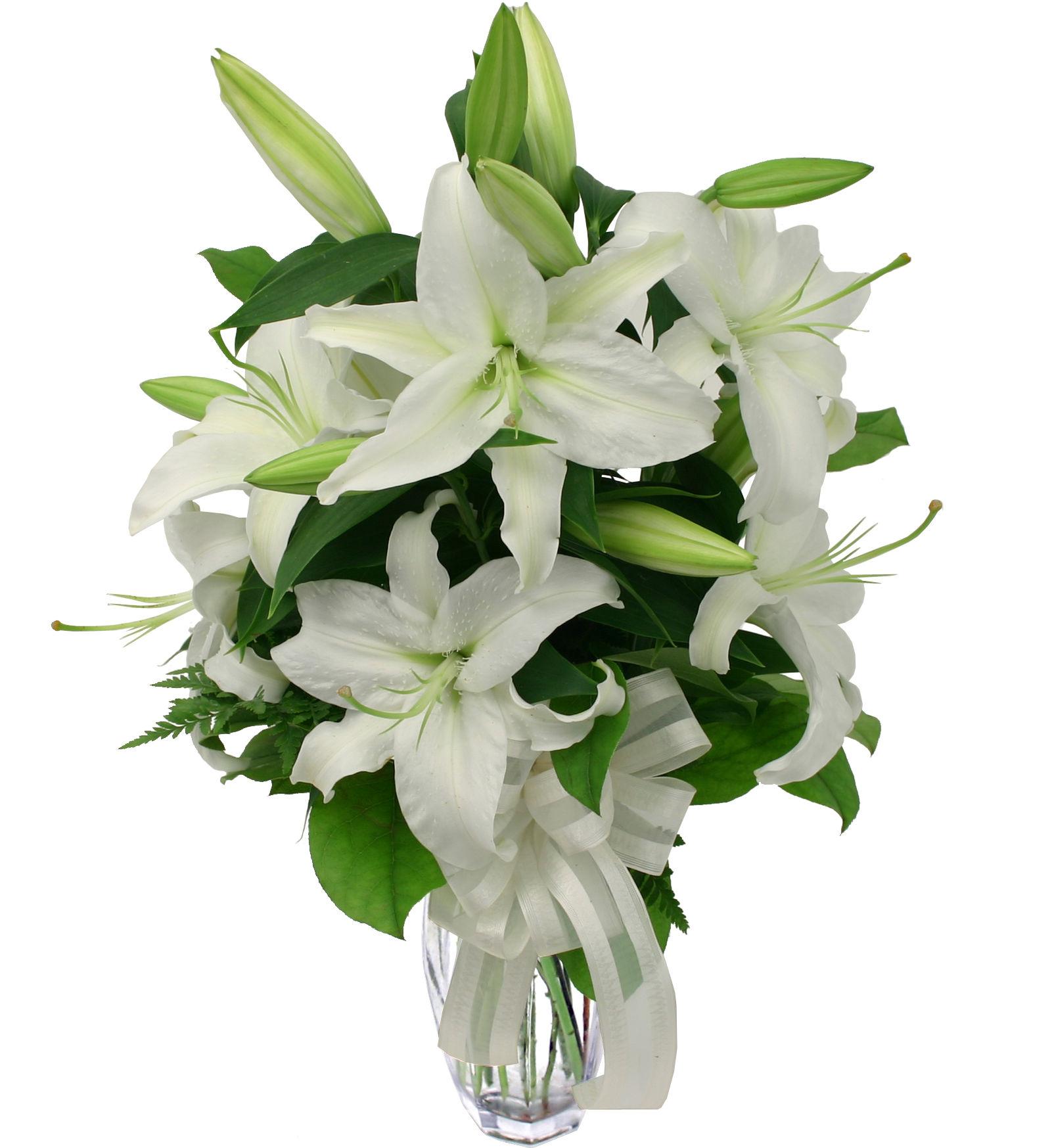 Calgary funeral flowers canada flowers casablanca lilies izmirmasajfo