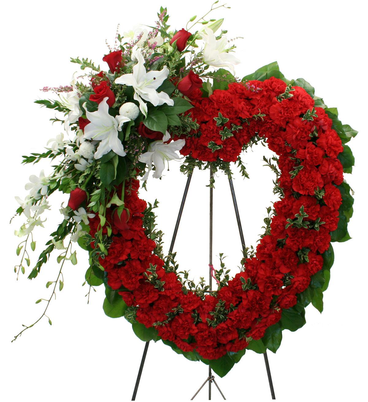 Funeral sympathy flowers canada flowers heart of love izmirmasajfo