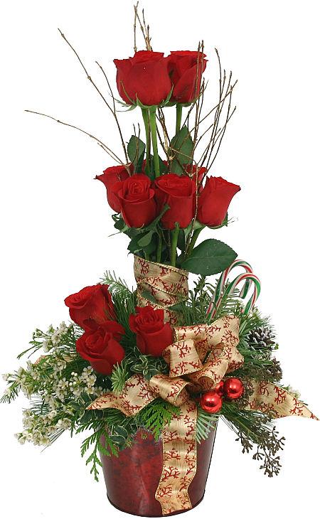 Rose Topiary 183 Premium Christmas Flowers 183 Canada Flowers