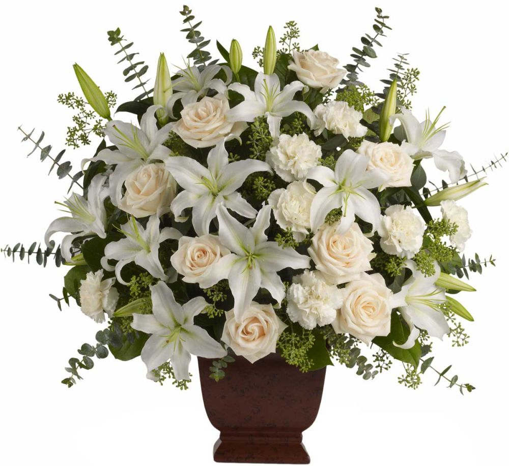 Send funeral flowers to a viewing or wake. Sending funeral home flowers to a viewing or wake is a wonderful way to honor the deceased, even if you can't attend the service personally. Fresh flowers brighten the memorial service and bring consolation to friends and family alike.