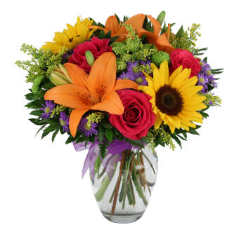 Turn their frown upside-down with some sassy sunflowers!