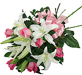 Our bouquets catalogue is made up exclusively of freshly cut bouquets which are typically wrapped and tied with a bow, then delivered to the recipient anywhere in Canada (who in turn arranges the flowers in his or her own vase). Also, we are offering hand-tied bouquets, which are similar to cut flower bouquets except that a floral designer has carefully arranged and carefully hand tied all the stems, making the bouquet much easier to simply place inside a vase. Enjoy!