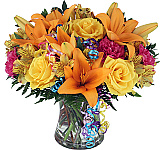 Send Birthday Flowers same day across Canada with Canada Flowers, Canada's National Florist. Order by 2 pm EDT for same day delivery to most towns and cities across Canada. Our Canada Flowers Originals happy birthday bouquets and arrangements will make someone's birthday a special one this year.