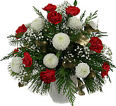 Budget Christmas flowers and poinsettias by Canada Flowers. Featuring our lowest prices on Holiday flowers and gifts for delivery in Canada.