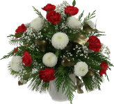 Budget Christmas flowers and poinsettias by Canada Flowers. Featuring our lowest prices on Holiday flowers and gifts.