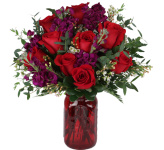 Find floral gifts that speak from the heart this Valentine's Day, Wednesday, February 14th, 2018. We offer the finest in original flower arrangements combined with genuinely exceptional personal customer service. Trust in Canada Flowers to help you show that they are still the best thing that has ever happened to you. Upgrade most Valentine arrangements shown at checkout with a teddy bear, chocolates, or a balloon as an added touch of love. For more floral ideas for your Valentine this year, check out our Love & Romance section. Send some floral love today!