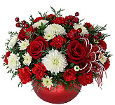 Celebrate the Christmas Holiday season with beautiful Christmas flowers, poinsettias or fruit and gourmet gift baskets from Canada Flowers, Canada's National Florist. Now with over 200 gifts! Our Christmas flower arrangements, bouquets and floral centerpieces will surely bring warmth and cheer to any home or office. Same day delivery is available for most flower gifts in Canada.