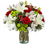 All FTD® 2018 Christmas flowers are hand-made by professional FTD® Christmas florists and are locally delivered fresh to the door in Canada. From sophisticated centerpieces to traditional Christmas flower bouquets, our FTD® Christmas flower collection will complete any holiday décor. This Christmas, send your love and holiday wishes with beautiful FTD flowers for Christmas.