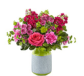 All FTD® Spring Flowers are hand-made by professional FTD® florists and are locally delivered fresh to the door. Here you will find arrangements to send that feature bright spring flower colours using Asiatic lilies, tulips, daisies and more. Our Canada Flowers Original Spring Flowers catalogue has even more spring flower options to choose from. We are Canada Flowers, Canada's national florist, specializing in the very best local Canadian FTD® spring flower delivery services. Delivery is available same day in Canada.