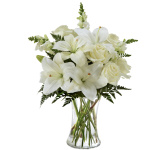 FTD Sympathy flowers for sending to the family residence at a time of loss. These beautiful FTD sympathy bouquets and arrangements can be delivered same day across Canada.