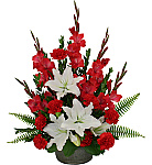 Welcome to Canada Flowers Budget Funeral Flowers catalogue. All funeral flower bouquets and arrangements below are suitable for sending to the funeral home or funeral service. Prices are in Canadian dollars and same day delivery is available to most towns and cities in Canada. Taxes are added at online checkout. There are no additional service charges. With over 50 years experience sending funeral flowers across Canada, you can trust Canada Flowers with your most important occasions. For a larger tributes like Funeral Sprays or Funeral Wreaths, Canada Flowers has a great original selection.