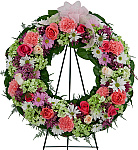 Welcome to Canada Flowers' catalogue of Funeral Wreaths and Funeral Crosses. Prices are in Canadian dollars. Our Funeral Sprays selection might also have the floral expression you're looking for. You can trust Canada Flowers, Canada's National Florist to help express your sympathy for the loss of a loved one. We have over 50 years experience delivering the highest quality flowers for life's most important occasions in Canada. Our services are fully guaranteed.