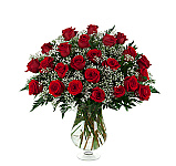 Choose a single rose in a bud vase all the way up to an amazing display of three dozen lush, long stem red roses. Sweep your loved one off their feet with this classic romantic floral gift. Priced in Canadian dollars. You may also want to check out our Rose Arrangements for additional ideas. You can trust Canada Flowers with your online flower orders in Canada. We an award-winning Canadian florist and our service, quality and satisfaction is guaranteed!