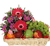 Welcome to our Sympathy Fruit Baskets online catalogue. These gourmet baskets have been carefully chosen by the staff at Canada Flowers as suitable gifts to send at a time of loss. Prices are in Canadian dollars. Taxes are added at checkout. Most fruit baskets can be delivered next day to Canada if ordered by 2 pm EDT. A wider selection of Fruit and Gourmet Baskets is also available.