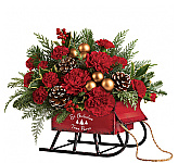 Teleflora Christmas Flowers from Canada Flowers, Canada's National Florist. Featuring the latest Thomas Kinkade Keepsake gifts for delivery in Canada.