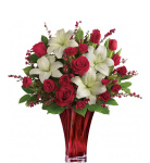 Our Teleflora Love and Romance flowers are hand-made by professional Teleflora codified florists and are locally delivered in Canada fresh to the door.