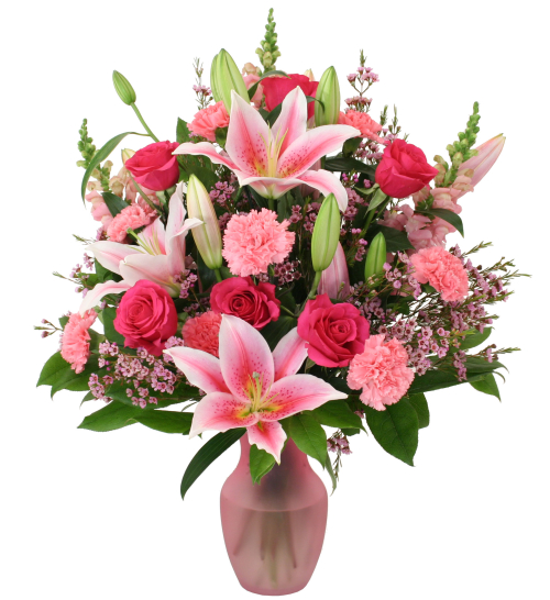 Birthday Flowers Gifts Premium Pinks Bd23aa Canada Flowers