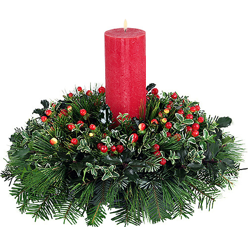 Christmas Carol Centerpiece