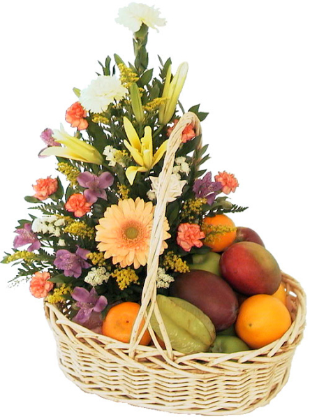 Fruit Amp Flowers Fg12aa 183 Fruit Baskets Amp Gourmet Gift