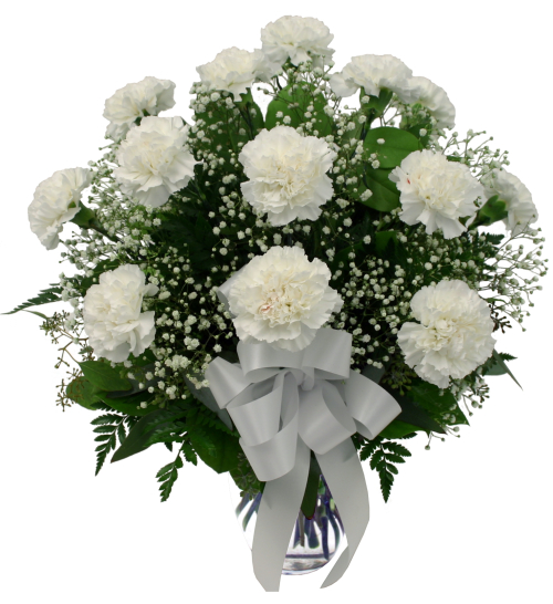 maternity new baby flowers white carnations ma27aa canada