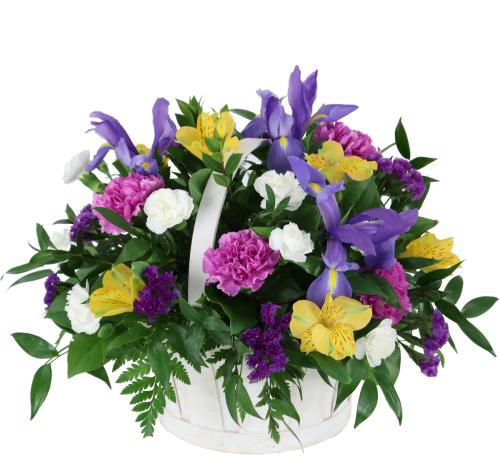 Spring flowers spring flower basket spg20aa canada flowers spring flower basket mightylinksfo