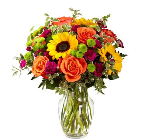 As Shown Upgraded Premium The FTDR Color Craze Bouquet