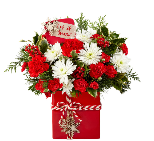 FTD® Christmas Arrangements · FTD Holiday Cheer Bouquet