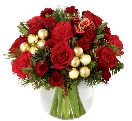 FTD Holiday Gold™ Bouquet