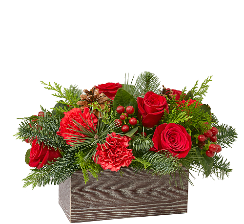 FTD® Christmas Cabin Bouquet
