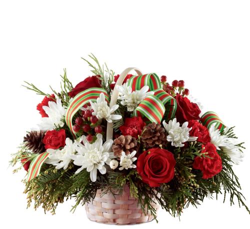 Ftd christmas centerpieces · goodwill cheer basket
