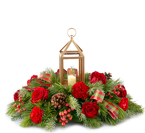 FTD® I'll be Home for Christmas Centerpiece
