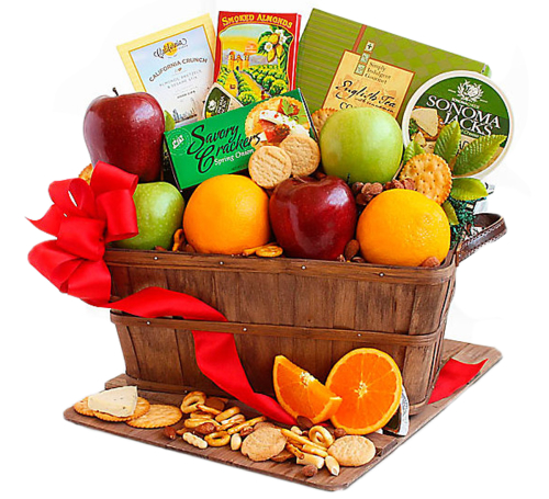FTD® Fruitful Greeting Gourmet Basket