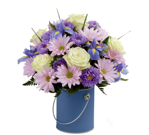 FTD® Colour Your Day With Tranquility Bouquet