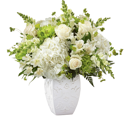 FTD® Peace and Hope Green Bouquet