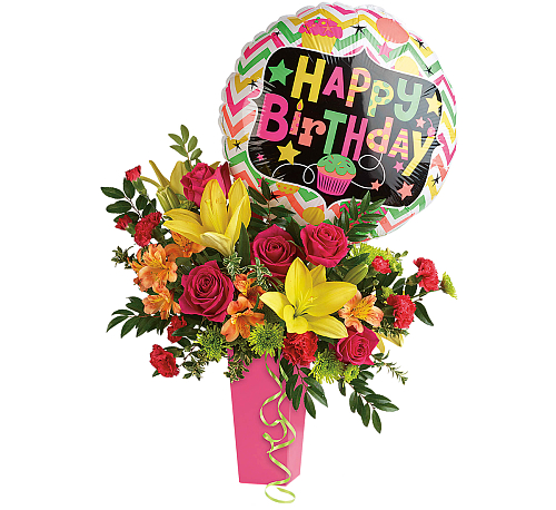 Teleflora Birthday Bash Bouquet