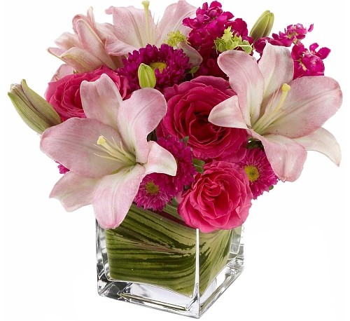 Teleflora's Posh Pinks Bouquet