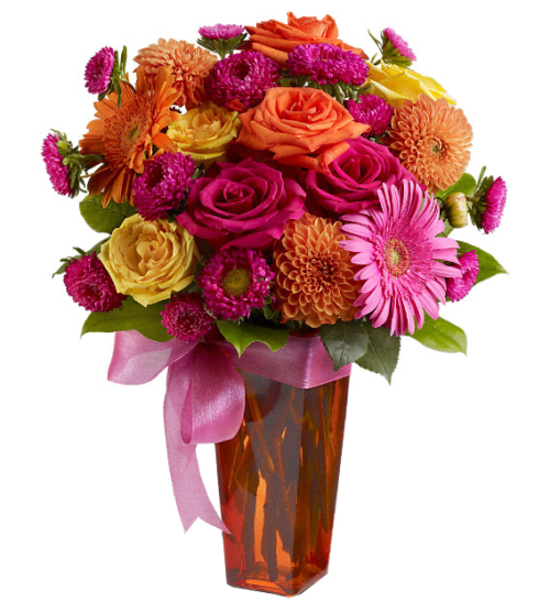 Teleflora's Strikingly Chic Bouquet