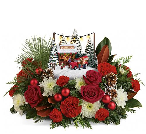 Teleflora christmas arrangements · t ch ta