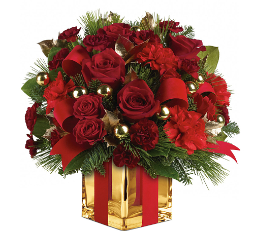 Teleflora's All Wrapped Up Bouquet