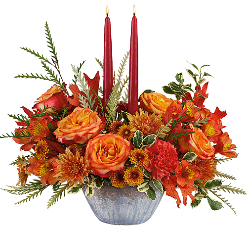 Teleflora's Bountiful Blessings Centerpiece