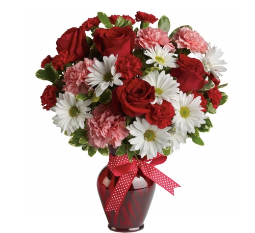 Teleflora's Hugs and Kisses Bouquet