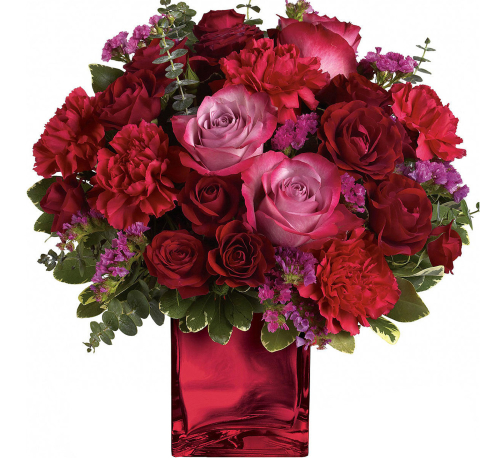 Teleflora's Ruby Rapture Bouquet